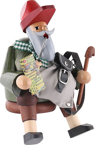 German Incense Smoker Wanderer - 15cm / 6 inch - KWO