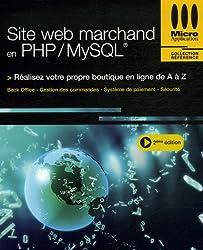 Site web marchand en PHP/MySQL