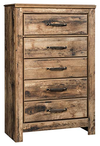 Signature Design by Ashley B224-46 Blaneville Chest of Drawers Brown ()