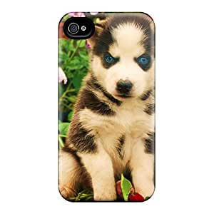 Iphone High Quality Tpu Case/ My Blue Eyes They Say I'm Husky Case Cover For Iphone 4/4s by Maris's Diary
