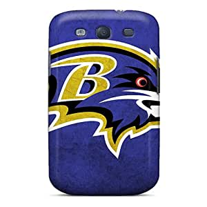 Shockproof Hard Cell-phone Cases For Samsung Galaxy S3 With Provide Private Custom HD Baltimore Ravens Image ColtonMorrill