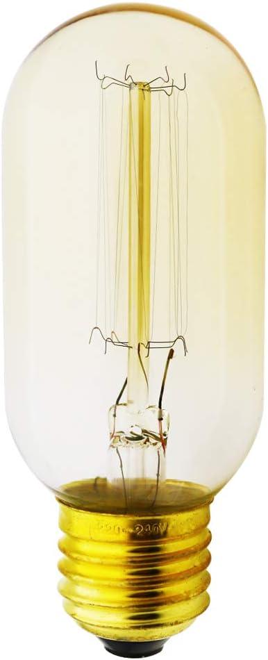 Edison E27 40W Candle Bulb Antique Globe Filament Lamp Retro Vintage Light 220V