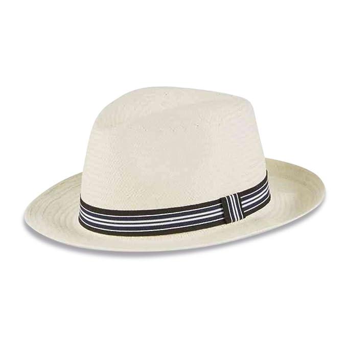 The Outlet London - Cappello Panama - Uomo Natural Large  Amazon.it   Abbigliamento 57df5755adfb