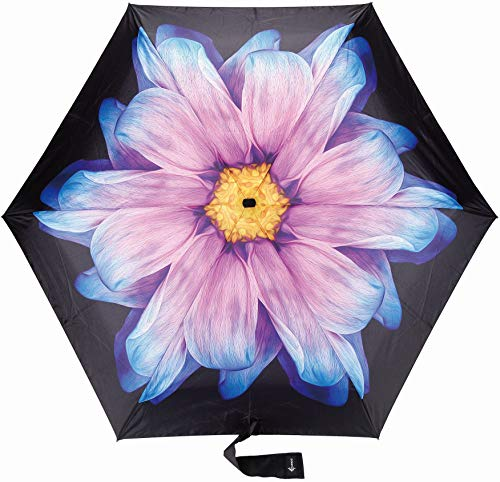 Travel Umbrella with Waterproof Case - Small and Compact for Backpack or Purse. Great Umbrella for Women