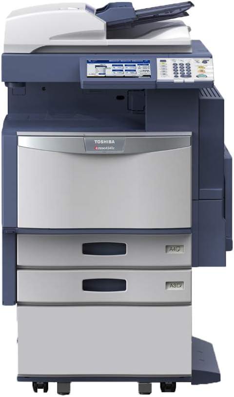 Amazon Com Toshiba E Studio 2040c A3 Color Laser Multifunction Printer 20ppm Copy Print Scan E Filing Auto Duplex Network 2400 X 600 Dpi 2 Trays Stand Electronics