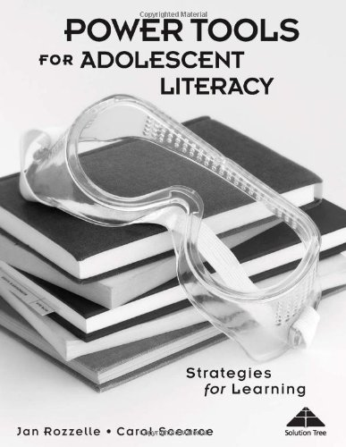 Power Tools for Adolescent Literacy: Strategies for Learning (Activities and Games for the Classroom)