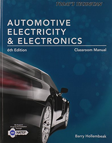 System Electric New England - Today's Technician: Automotive Electricity and Electronics Classroom Manual
