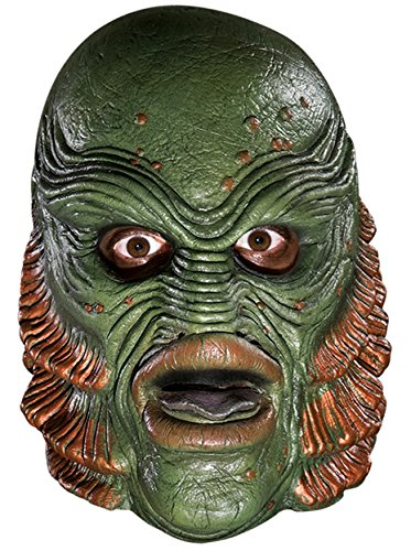Rubie's Costume Co. Men's Universal Studios Creature From The Black Lagoon Latex Mask, AS SHOWN, One (Universal Studios Costumes)