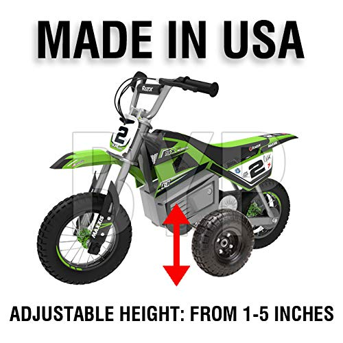 BYP_MFG_INC Adjustable Height Razor SX350 SX 350 Kids Youth Training Wheels ONLY by BYP_MFG_INC