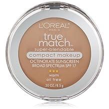 L'Oreal Paris True Match Super-Blendable Compact Makeup, Nude Beige, 0.30 Ounces
