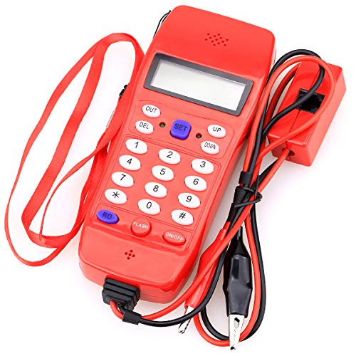(NF-866 Phone Cable Tester Tool for Telephone Telecommunication,Check Phone DTMF Caller ID Auto Detection)