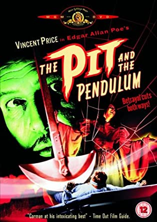 The Pit And The Pendulum Dvd Amazoncouk Vincent Price John  The Pit And The Pendulum Dvd