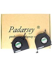 Padarsey A1286 Left+Rechts CPU Koelventilator Compatibel voor MacBook Pro 15 inch 2008 2009 2010 2011 2012