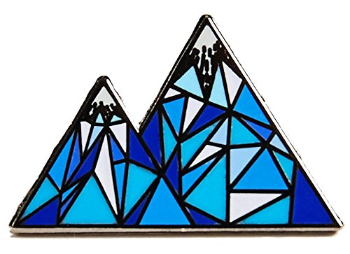 Real Sic Mountain Enamel Pin Adventurous Life - Colorodo Pin, Skiing Pin, Premium Mountain Lapel Pin Gift