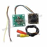 Generic 700TVL Super HAD CCD II 2.8mm Lens FPV Camera + OSD Control Panel for Sony