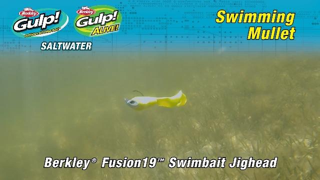 Berkley Gulp! Swimming Mullet Fishing Soft Bait