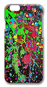 iPhone 6 Cases, Paint Splatter Protective Snap-on Hard Case Back Cover Protector Slim Rugged Shell Case For iPhone 6 (4.7 inch)