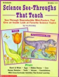 Science See Throughs That Teach, Rutzky, 0590603434
