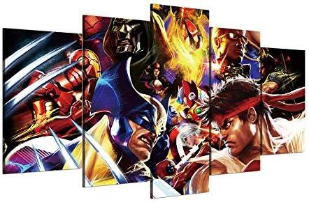 Amazon Com Canvas Painting 5 Pieces 5 Piece Canvas Prints Wall