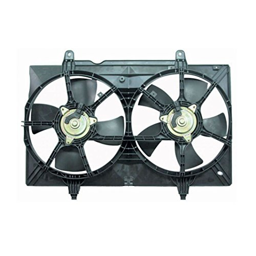 - Radiator Dual Cooling Fan Assembly for 04-09 Nissan Quest