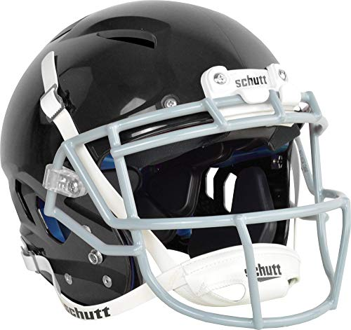 y Vengeance Pro Football Helmet(Faceguard Not Included), Black, X-Large ()