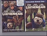 """Leatherheads Widescreen LIMITED EDITION 2 DISC DVD SET Includes BONUS DISC Featuring """"The History of Leatherheads""""; """" A Day at Football Training Camp""""; """"The Leatherheads Look"""" & More"""