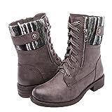 Women's KadiMaya1619-2 Boots, Grey, 10M