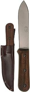 "product image for KA-BAR Becker Kephart Fixed 5.1 in Blade Walnut Handle, Brown BK62 Overall Length: 9.688"""