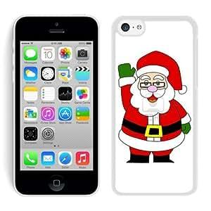 2014 Newest Iphone 5C TPU Case Santa Claus White iPhone 5C Case 24