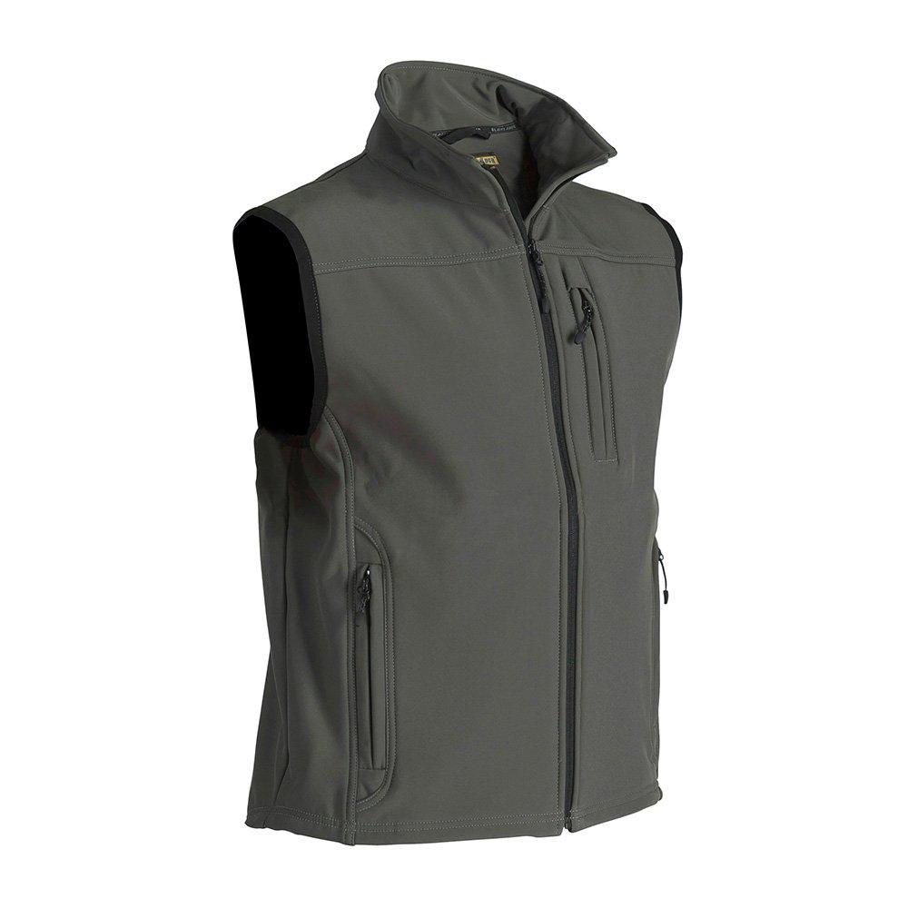 Blaklader 817025154600M Softshell Vest, Size M, Army Green