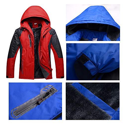Da E Giacca Adventure Sports Uomo Alpinista Bozevon Impermeabile Blu Outdoor Trekking Softshell vIqZ8d