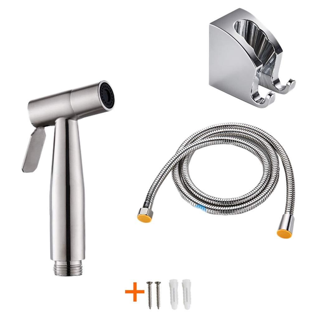 Sprayers Flusher Piece Set Handheld Bidet Toilet Sprayer Hygiene Bidet Shower Sprayer Bronze Pressurized Washing Faucet Hot and Cold Adjustable Toilet Spray Gun (Color : A2-3 Sets of Spray Gun)