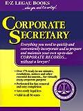 Corporate Secretary, Legal Forms E-Z, Mario D. German, 1563823047