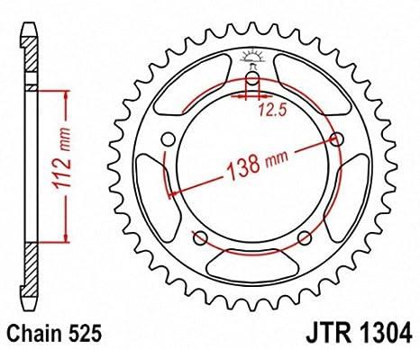 JT Sprockets JTR1304.39 39T Steel Rear Sprocket