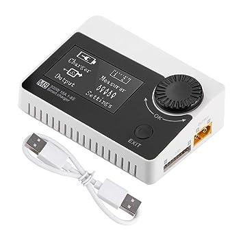 Cargador de Equilibrio de la Batería, ToolkitRC M8 300W 15A ...