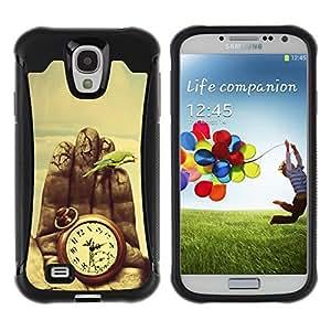 Suave TPU GEL Carcasa Funda Silicona Blando Estuche Caso de protección (para) Samsung Galaxy S4 IV I9500 / CECELL Phone case / / Time Painting Deep Meaning Nature Vignette /