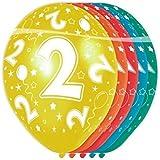 Folat 8714572193023, palloncini colorati per compleanno e anniversari - 2 anni