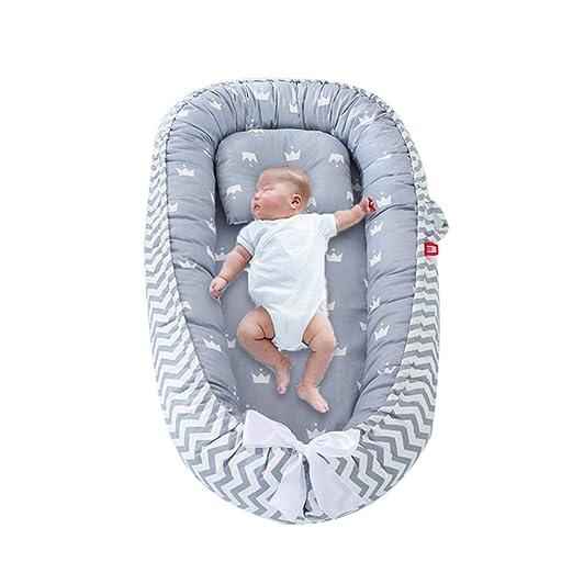 FOONEE Baby Lounger Nest, Cuna Portátil Y Moisés Dormir En ...
