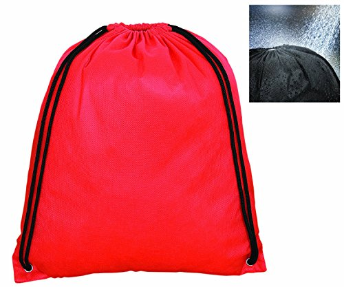 Resistant Drawstring Backpack Durable Stylish