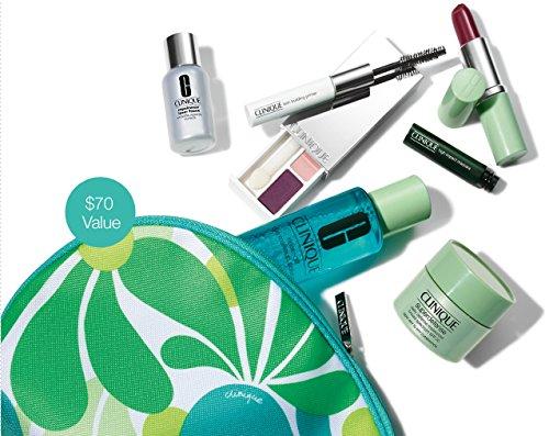 Clinique printemps 2014 Bonus Gift Set dans le sac cosmétique