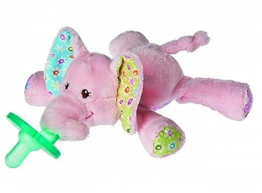 Amazon.com : Mary Meyer Wubbanub Infant Pacifier Ella Elephant : Baby