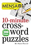 img - for Mensa 10-Minute Crossword Puzzles book / textbook / text book