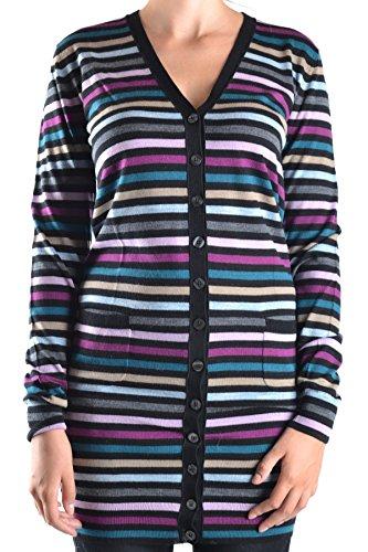 Dolce e Gabbana Women's Mcbi099286o Multicolor Wool Cardigan Dolce & Gabbana Women Sweaters