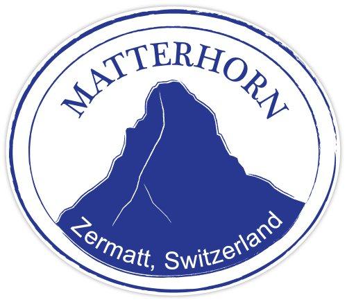 Matterhorn Zermatt Switzerland stamp sticker decal 5