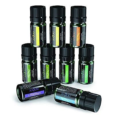 Anjou Top 9 Essential Oils Set