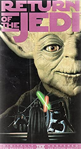 Return of the Jedi (Star Wars) (VHS tape) (Star Wars Return Of The Jedi Vhs)