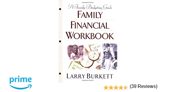 Workbook bible studies for kids worksheets : Family Financial Workbook: A Family Budgeting Guide: Larry Burkett ...