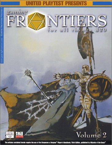 Gaming Frontiers, Volume 2 pdf epub