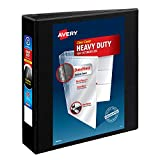 """Avery Heavy-Duty View 3 Ring Binder, 2"""" One Touch"""