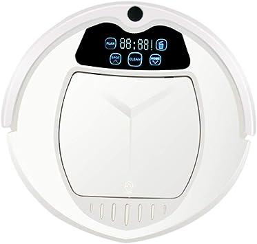 MIEMIE Robot Aspirador Tanque De Agua Eléctrico Mapeo Navegación Inteligente Y App Friega Y Pasa La Mopa Automático Carga Suelos Duros Y Alfombras Robot De Limpieza para Mascotas Planeando: Amazon.es: Deportes y